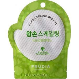 Пилинг-диск для лица с зеленым виноградом Фрудиа (Frudia Green Grape Pore Peeling Big Pad), 1шт