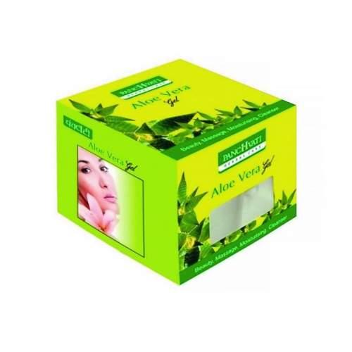 Антивозрастной гель для лица с алоэ вера Панчвати (Panchvati Aloe vera gel), 100г
