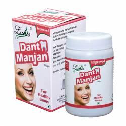 Зубной натуральный порошок Лалас Дант Манджан (Lalas Dant Manjan), 100г