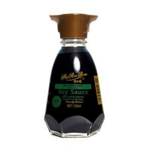 Соевый соус слабосоленый без клейковины Pearl River Bridge (Pearl River Bridge Soy Sauce Gluten free Less salt), 150мл