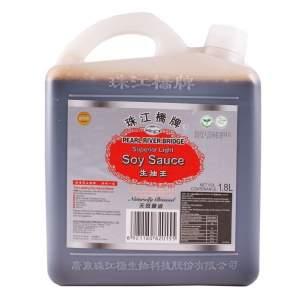 Соевый соус светлый Перл Ривер Бридж (Pearl River Bridge Superior light soy sauce), 1.8л