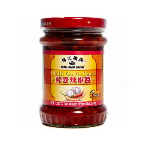 Соус Чили с чесноком Pearl River Bridge (Chili Garlic Sauce), 240г