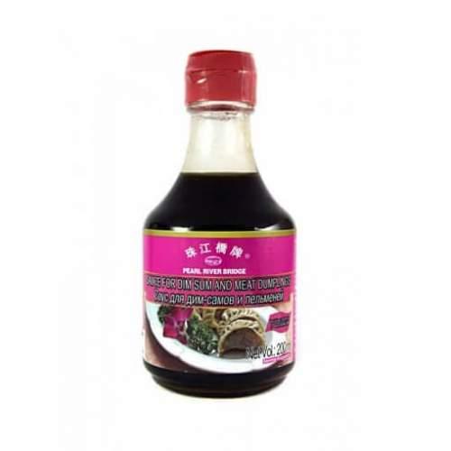 Соус для пельменей и дим-самов с чесноком Перл Ривер Бридж (Sauce for Dim Sum with garlic), 200мл