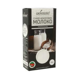 Сухое кокосовое молоко Полеззно (Polezzno), 100г