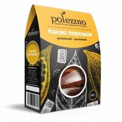 Какао Порошок Натуральный Полеззно (Polezzno), 500г