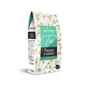 Напиток Ромашка и Мелиса Полеззно (Polezzno Tea), 20 фильтр-пакетов