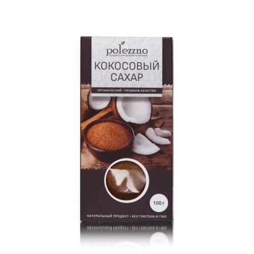 Кокосовый сахар Полеззно (Polezzno), 100г