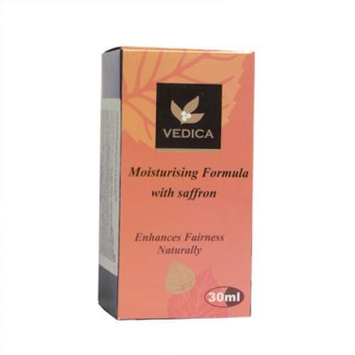 Масло для лица увлажняющее с шафраном Веда Ведика (Veda Vedica Moisturising Formula with saffron), 30мл