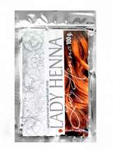 Натуральная индийская хна Коричневая Леди Хенна (Lady Henna), 100г