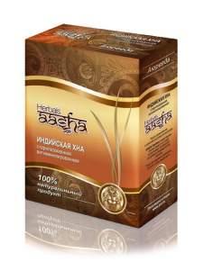 Стерилизованная витаминизированная индийская хна Ааша (Aasha Herbals), 80г
