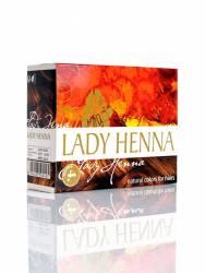 Краска для волос на основе хны Каштан Леди Хенна (Lady Henna natural colors for hairs), 60г