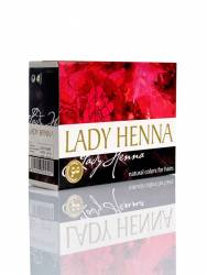 Краска для волос на основе хны Темно-коричневая Леди Хенна (Lady Henna natural colors for hairs), 60г