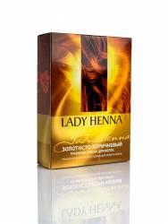 Натуральная краска для волос Золотисто-коричневая Леди Хенна (Lady Henna), 100г
