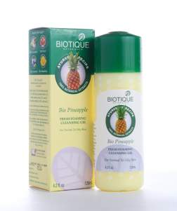 Гель для умывания Биотик Био ананас (Biotique Bio Pineapple Fresh Foaming Cleansing Gel), 120мл