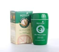 Крем для лица и тела Биотик Био Зародыши Пшеницы (Biotique Bio Wheat Germ Youthful Nourishing Night Cream), 50г