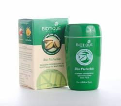 Антивозрастная питательная маска для лица Биотик Био Фисташки (Biotique Bio Pistachio Ageless Nourishing&Revitalizing Face Pack), 50мл