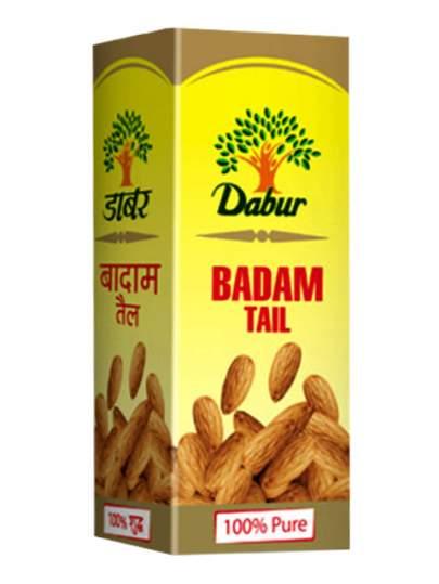 Натуральное миндальное масло Бадам Тейл Дабур (Dabur Badam Tail 100% Pure), 100мл