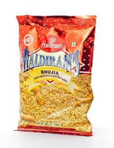 Смесь Халдирамс Буджия (Haldiram's Bhujia Savoury Spiced Bean&GramFflour Noodles), 200г