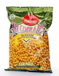 Соленые Шарики Халдирамс Бонди (Haldiram's Boondi Salted Fried Gram Flour Puffs) , 200г