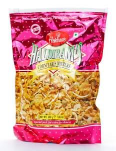 Смесь Халдирамс Корнфлекс Микстур (Haldiram's Cornflakes Mixture), 200г