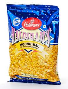 Солёный Маш Халдирамс Мунг Дал (Haldiram's Moong Dal Salty Fried Split Green Gram Snack, 200г