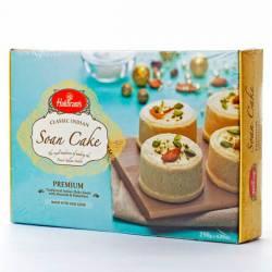 Индийские Сладости Халдирамс Соан Кейк (Haldiram's Soan Cake Flaky Sweet With Almonds&Pistachios), 250г