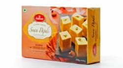 Индийские Сладости Халдирамс Соан Папди Вег (Haldiram's Soan Papdi Veg Ghee Made With Vegetable Ghee) , 250г