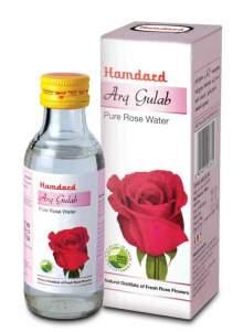 Натуральная розовая вода Арк Гулаб Хамдард (Hamdard Arq Gulab Pure Rose Water), 100мл