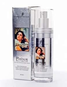 Платиновая сыворотка для максимального ухода за кожей на клеточном уровне Шахназ Хусейн (Shahnaz Husain Platinum Ultimate Cellular Skin Recharge Serum), 40г
