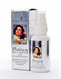 Восстанавливающая сыворотка для кожи головы с платиной Шахназ Хусейн (Shahnaz Husain Platinum Ultimate Scalp Rejuvenation Serum), 50мл