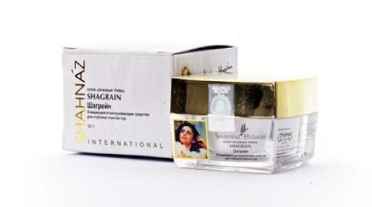 Отшелушивающее средство для глубокой очистки пор Шагрейн Шахназ Хусейн (Shahnaz Husain Shagrain Deep Cleanser/Exfoliatir) , 40г