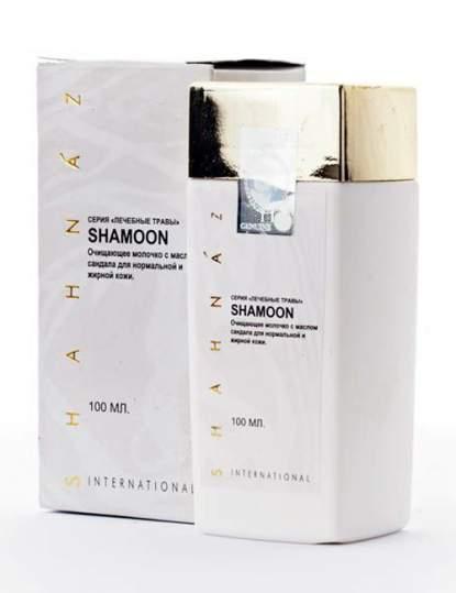Очищающее молочко с маслом сандала для нормальной и жирной кожи Шамун Шахназ Хусейн (Shahnaz Husain Shamoon Sandalwood Cleansing Lotion), 100мл