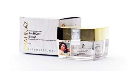 Миндальный крем для ухода за кожей вокруг глаз Шасмут Шахназ Хусейн (Shahnaz Husain Shasmooth Almond Under-Eye Cream), 40г