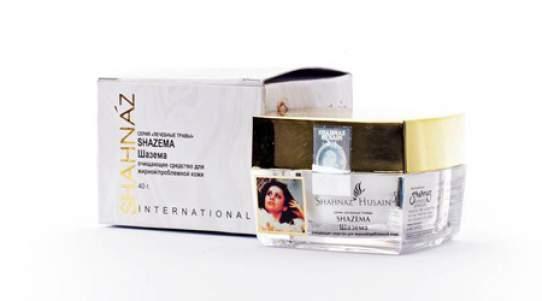 Очищающее средство для жирной/проблемной кожи Шазема Шахназ хусейн (Shahnaz Husain Shazema Herbal Cleanser Oily/Problem Skin), 40г