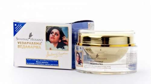 Маска красоты на основе стволовых клеток растений Ведафарма Шахназ Хусейн (Shahnaz Husain Vedapharma Plant Stem Cell Skin Renewal Cream), 100г