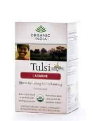 Базиликовый чай Жасмин Органик Индия (Organic India Tulsi Jasmine), 18шт