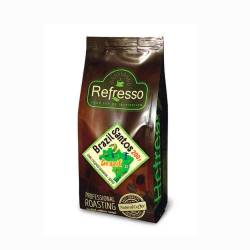 Кофе зерновой Бразилия Сантос Рефрессо (Refresso Brasil Santos), 200г