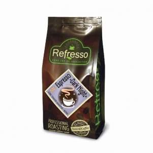 Кофе зерновой Эспрессо Дарк Найт Рефрессо (Refresso Espresso Dark Night), 500г
