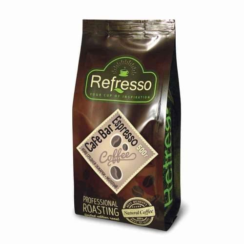 Кофе молотый Кафе Бар Эспрессо Рефрессо (Refresso Cafe Bar Espresso), 500г