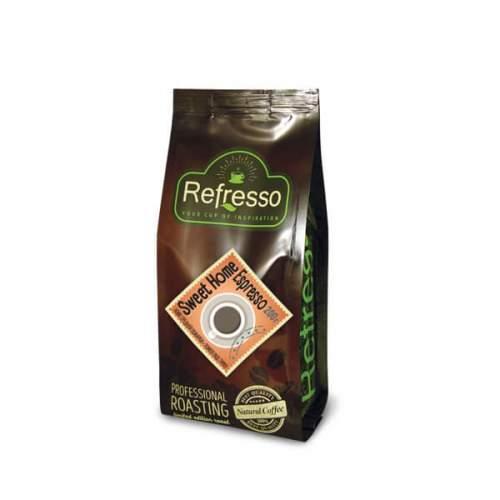 Кофе молотый (помол под турку) Свит Хоум Эспрессо Рефрессо (Refresso Sweet Home Espresso), 200г