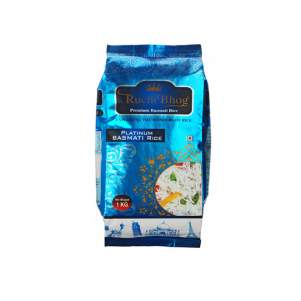 Индийский рис Басмати Ручи Бхог Платинум (Basmati Rice Ruchi Bhog Platinum), 1кг
