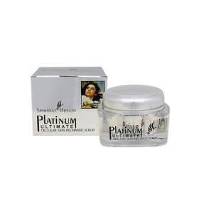 Платиновый скраб для восстановления энергетического баланса клеток Шахназ Хусейн (Shahnaz Husain Platinum Ultimate Cellular Skin Recharge Scrub), 40г