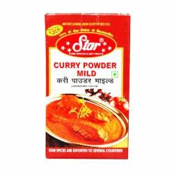 Карри нежный молотый Стар (Curry Mild Star), 50г