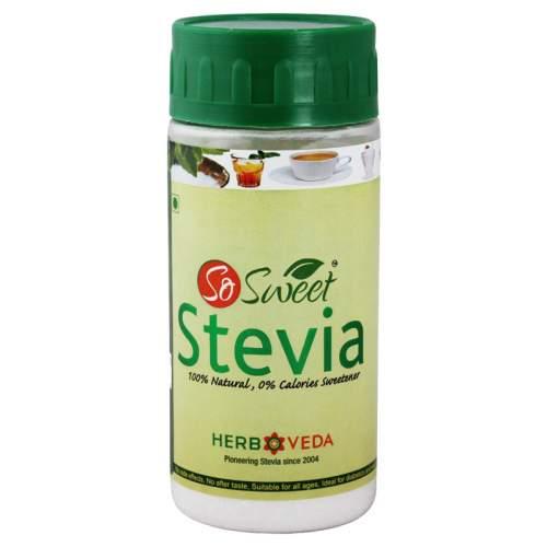 Подсластитель, сахарозаменитель Стевия экстракт (Stevia So Sweet), 100г