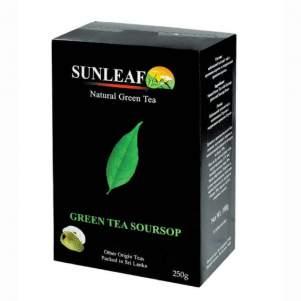 Чай зеленый с кусочками саусепа Санлиф (Sunleaf Green Tea Soursop), 250г
