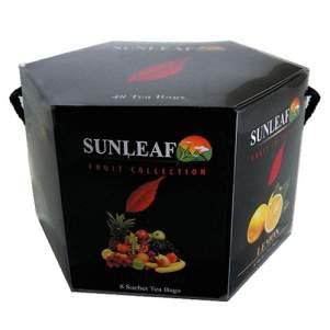Чай пакетированный Фруктовая коллекция Санлиф (Sunleaf Fruit Collection), 48шт