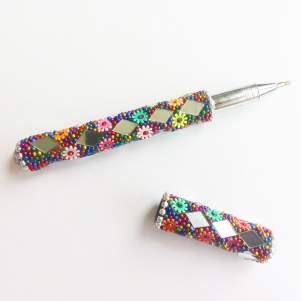 Шариковая ручка ручной работы Джайпур (Jaipur Handmade Pen), 1шт