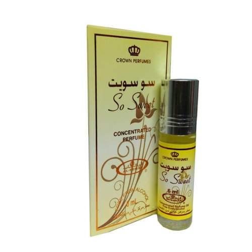 Масляные духи с роллером Со Свит Аль Рехаб (Al-Rehab So Sweet), 6мл