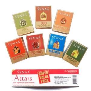 Духи-масло (шариковые) набор 7 ароматов Синая (Synaa Exotic Fragrance), 7шт
