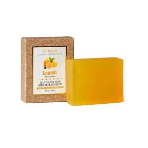 Мыло ручной работы Лимон Синая (Synaa Lemon Handmade soap Skin Refreshment), 100г